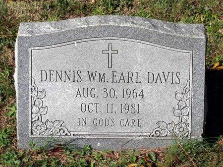 DAVIS, DENNIS WILLIAM EARL - Hanover County, Virginia | DENNIS WILLIAM EARL DAVIS - Virginia Gravestone Photos