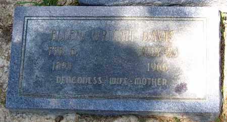 DAVIS, ELLEN - Hanover County, Virginia | ELLEN DAVIS - Virginia Gravestone Photos