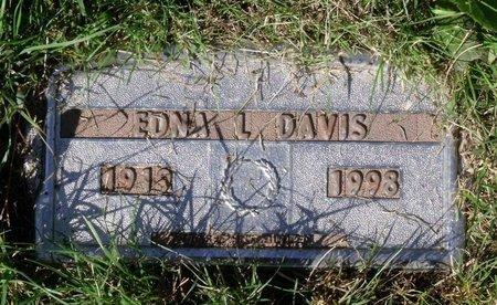 DAVIS, EDNA L. - Hanover County, Virginia | EDNA L. DAVIS - Virginia Gravestone Photos