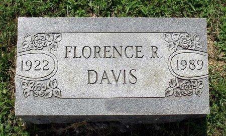 DAVIS, FLORENCE R. - Hanover County, Virginia | FLORENCE R. DAVIS - Virginia Gravestone Photos