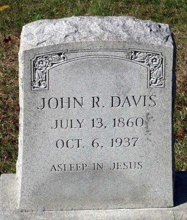 DAVIS, JOHN R. - Hanover County, Virginia | JOHN R. DAVIS - Virginia Gravestone Photos
