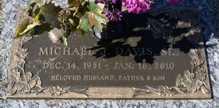 DAVIS, MICHAEL J. JR. - Hanover County, Virginia | MICHAEL J. JR. DAVIS - Virginia Gravestone Photos