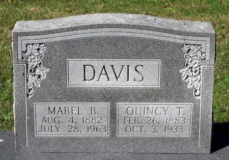 DAVIS, QUINCY THOMAS - Hanover County, Virginia | QUINCY THOMAS DAVIS - Virginia Gravestone Photos