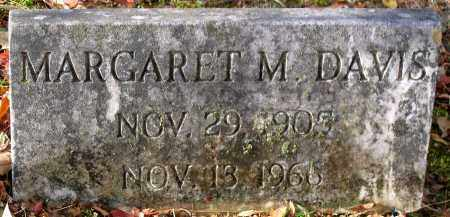 DAVIS, MARGARET M. - Hanover County, Virginia   MARGARET M. DAVIS - Virginia Gravestone Photos