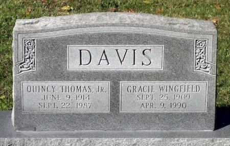 DAVIS, GRACIE - Hanover County, Virginia | GRACIE DAVIS - Virginia Gravestone Photos