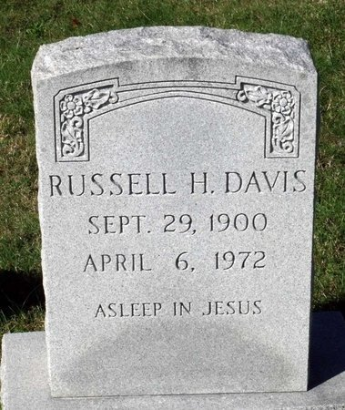 DAVIS, RUSSELL H. - Hanover County, Virginia   RUSSELL H. DAVIS - Virginia Gravestone Photos
