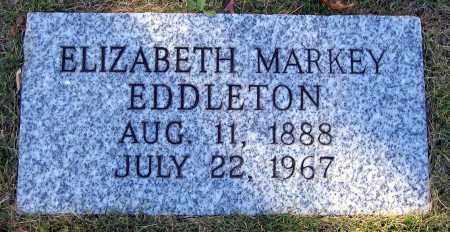 MARKEY EDDLETON, ELIZABETH - Hanover County, Virginia | ELIZABETH MARKEY EDDLETON - Virginia Gravestone Photos