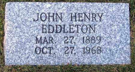 EDDLETON, JOHN HENRY - Hanover County, Virginia | JOHN HENRY EDDLETON - Virginia Gravestone Photos