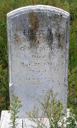 FINCH, ELIZA N. - Hanover County, Virginia | ELIZA N. FINCH - Virginia Gravestone Photos