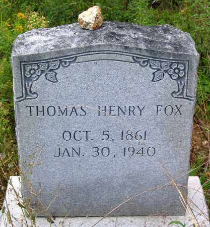 FOX, THOMAS HENRY - Hanover County, Virginia | THOMAS HENRY FOX - Virginia Gravestone Photos