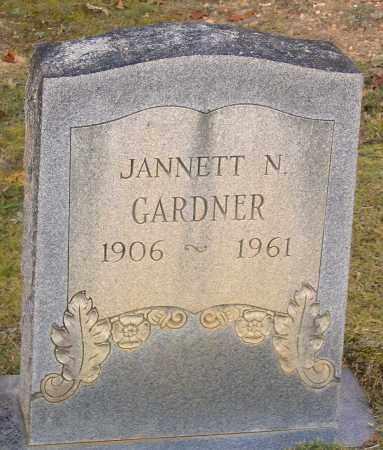 GARDNER, JANNETT N. - Hanover County, Virginia | JANNETT N. GARDNER - Virginia Gravestone Photos
