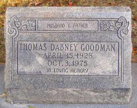 GOODMAN, THOMAS DABNEY - Hanover County, Virginia | THOMAS DABNEY GOODMAN - Virginia Gravestone Photos