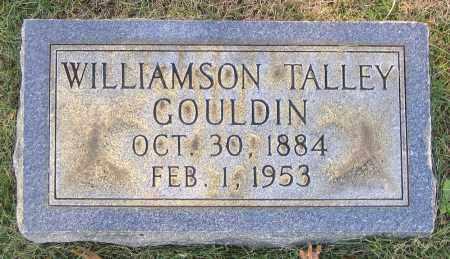 GOULDIN, WILLIAMSON TALLEY - Hanover County, Virginia | WILLIAMSON TALLEY GOULDIN - Virginia Gravestone Photos