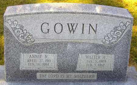 GOWIN, ANNIE N. - Hanover County, Virginia | ANNIE N. GOWIN - Virginia Gravestone Photos