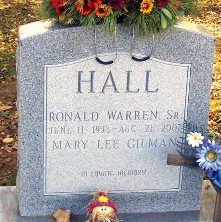 HALL, RONALD WARREN, SR. - Hanover County, Virginia | RONALD WARREN, SR. HALL - Virginia Gravestone Photos