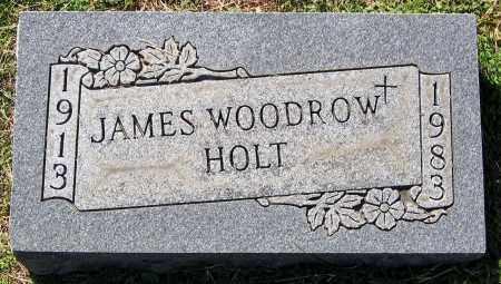 HOLT, JAMES WOODROW - Hanover County, Virginia   JAMES WOODROW HOLT - Virginia Gravestone Photos