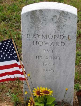 HOWARD, RAYMOND L. - Hanover County, Virginia | RAYMOND L. HOWARD - Virginia Gravestone Photos