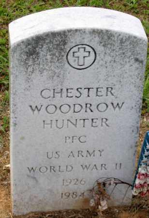 HUNTER, CHESTER WOODROW - Hanover County, Virginia | CHESTER WOODROW HUNTER - Virginia Gravestone Photos