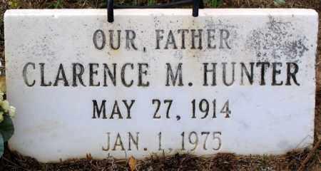 HUNTER, CLARENCE M. - Hanover County, Virginia | CLARENCE M. HUNTER - Virginia Gravestone Photos
