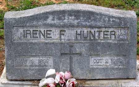 HUNTER, IRENE F. - Hanover County, Virginia | IRENE F. HUNTER - Virginia Gravestone Photos