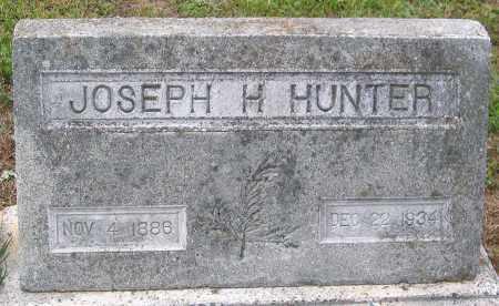 HUNTER, JOSEPH H. - Hanover County, Virginia | JOSEPH H. HUNTER - Virginia Gravestone Photos