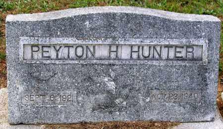 HUNTER, PEYTON H. - Hanover County, Virginia | PEYTON H. HUNTER - Virginia Gravestone Photos