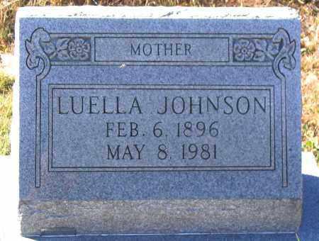 JOHNSON, LUELLA - Hanover County, Virginia   LUELLA JOHNSON - Virginia Gravestone Photos