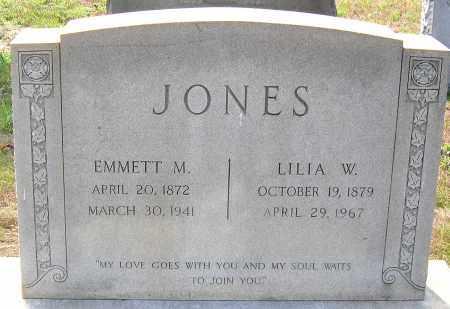 JONES, EMMETT M. - Hanover County, Virginia | EMMETT M. JONES - Virginia Gravestone Photos