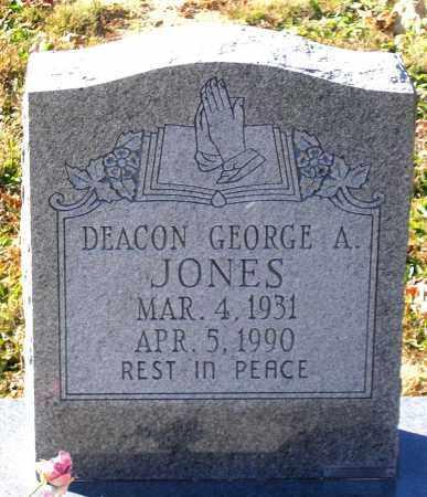 JONES, GEORGE A. - Hanover County, Virginia   GEORGE A. JONES - Virginia Gravestone Photos