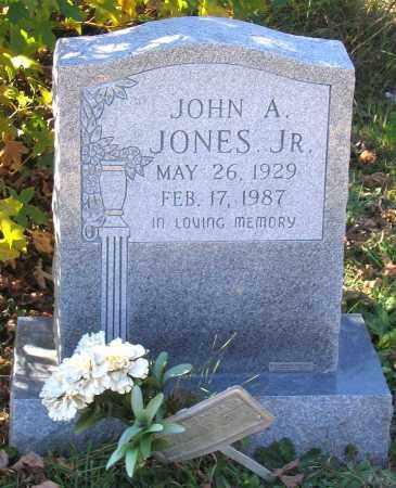 JONES, JOHN A. JR. - Hanover County, Virginia | JOHN A. JR. JONES - Virginia Gravestone Photos