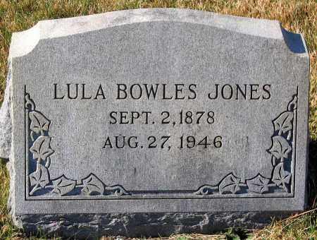 JONES, LULA BOWLES - Hanover County, Virginia   LULA BOWLES JONES - Virginia Gravestone Photos