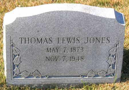 JONES, THOMAS LEWIS - Hanover County, Virginia | THOMAS LEWIS JONES - Virginia Gravestone Photos