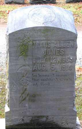 JONES, TRAVIS ALLEN - Hanover County, Virginia   TRAVIS ALLEN JONES - Virginia Gravestone Photos