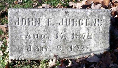 JURGENS, JOHN F. - Hanover County, Virginia | JOHN F. JURGENS - Virginia Gravestone Photos