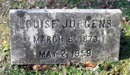 JURGENS, LOUISE - Hanover County, Virginia | LOUISE JURGENS - Virginia Gravestone Photos