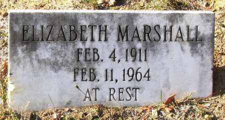 MARSHALL, ELIZABETH - Hanover County, Virginia | ELIZABETH MARSHALL - Virginia Gravestone Photos