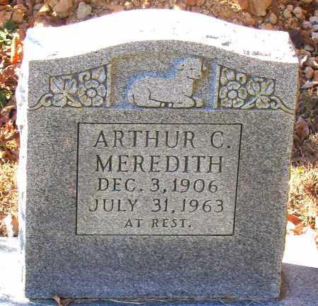 MEREDITH, ARTHUR C. - Hanover County, Virginia   ARTHUR C. MEREDITH - Virginia Gravestone Photos