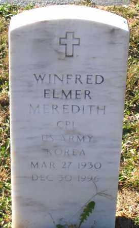 MEREDITH, WINFRED ELMER - Hanover County, Virginia | WINFRED ELMER MEREDITH - Virginia Gravestone Photos