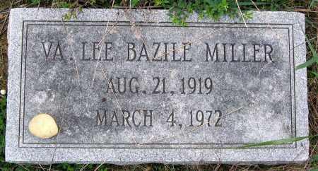 BAZILE MILLER, VIRGINIA LEE - Hanover County, Virginia   VIRGINIA LEE BAZILE MILLER - Virginia Gravestone Photos