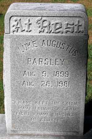PARSLEY, LUKE AUGUSTUS - Hanover County, Virginia | LUKE AUGUSTUS PARSLEY - Virginia Gravestone Photos