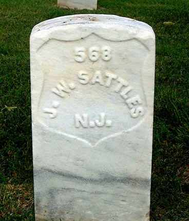 SATTLES (CW), JACOB W. - Hanover County, Virginia | JACOB W. SATTLES (CW) - Virginia Gravestone Photos