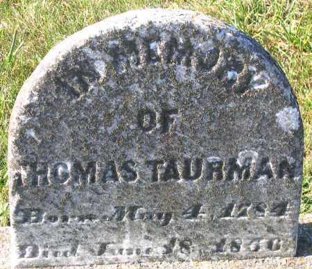 TAURMAN, THOMAS - Hanover County, Virginia | THOMAS TAURMAN - Virginia Gravestone Photos