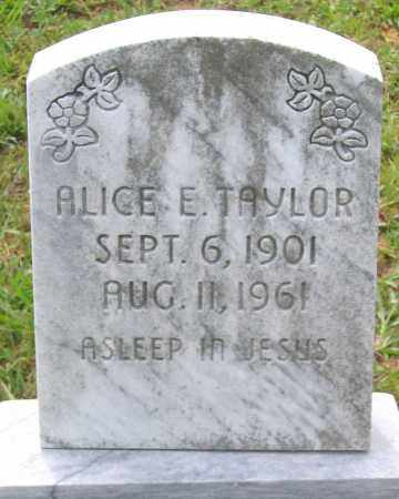 TAYLOR, ALICE E. - Hanover County, Virginia | ALICE E. TAYLOR - Virginia Gravestone Photos