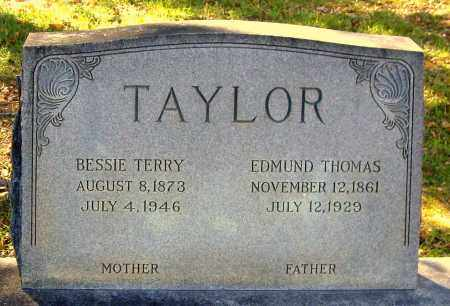 TAYLOR, EDMUND THOMAS - Hanover County, Virginia | EDMUND THOMAS TAYLOR - Virginia Gravestone Photos