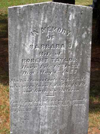 TAYLOR, BARBARA O. - Hanover County, Virginia   BARBARA O. TAYLOR - Virginia Gravestone Photos
