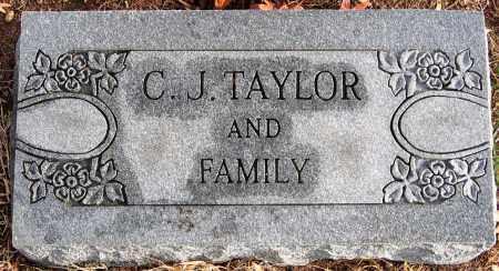 TAYLOR, C. J. - Hanover County, Virginia | C. J. TAYLOR - Virginia Gravestone Photos