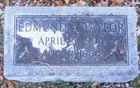 TAYLOR, EDMUND A. - Hanover County, Virginia | EDMUND A. TAYLOR - Virginia Gravestone Photos