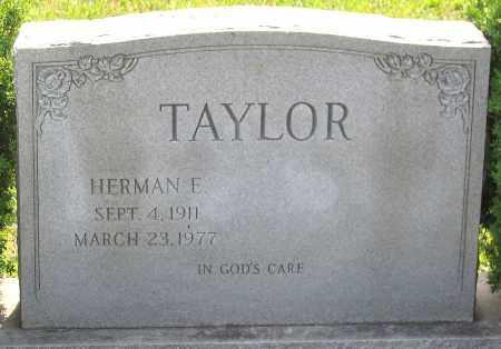 TAYLOR, HERMAN E. - Hanover County, Virginia   HERMAN E. TAYLOR - Virginia Gravestone Photos