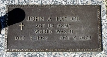 TAYLOR, JOHN A. - Hanover County, Virginia | JOHN A. TAYLOR - Virginia Gravestone Photos