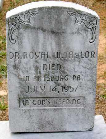 TAYLOR, ROYAL W. - Hanover County, Virginia | ROYAL W. TAYLOR - Virginia Gravestone Photos